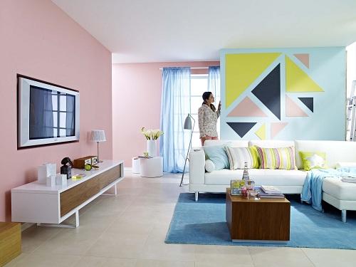 התאמת צבעים בעיצוב הבית טמבור